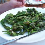 Padron peppers - scrumptious!