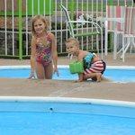 I love the kiddie pool!
