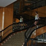 staircase leading to ballrooms