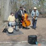 Músicos do parque