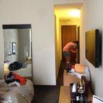 Hallway and room
