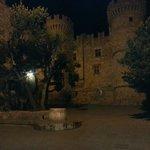 Le chateau de Rhodes