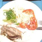 El almuerzo del TODO INCLUIDO.. Totalmente horroroso