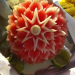 watermellon from the buffet