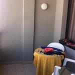 Terraza habitación 7 planta
