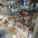 vitrine cuivre