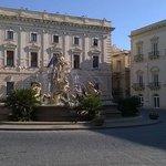 piazza Archimede e la Fontana di Diana