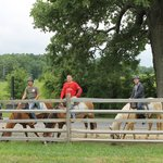 Horseback riding in Gettysburg National Battlefield Park