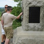 Just one of over 1,400 battlefield memorials at Gettysburg