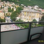 Opatija from our side balcony!