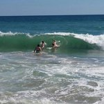 Waves vs Man