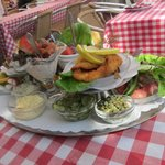 Our Kanal Platter lunch