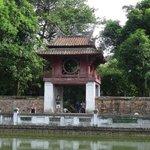 Hanoi's iconic landmark.