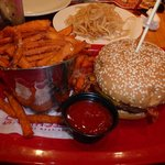 Red Robin Whiskey River BBQ Burger