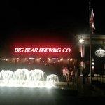Big Bear Brewing at night