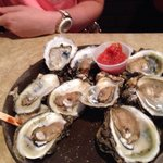 steamed oysters on the half shell= pure yumminess