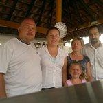 Pani Kasia jej mąż i goście