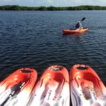 Un paseo en kayac por la Laguna Negra