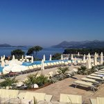 Argosy hotel pool area, July 2014