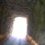 Going thru a tunnel