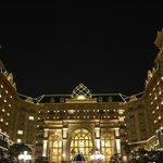 Tokyo Disney Hotel at night! June 2014