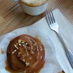 Caramel Roll from Corina Bakery at Cafe Brosseau