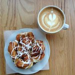 Perfect Latte and Monkey Bread