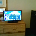 Econo Lodge, Kingsland, GA 7/14 Flat screen TV