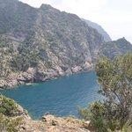 walk along cliffs