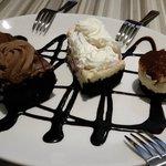 Italian Cream Torte, Tiramisu, and Italian Gelato