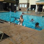 Swimming having a great time