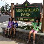 Main Sign for Arrowhead Park