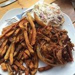 Carolina's BBQ pulled pork and fries