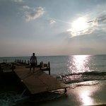 gün batımı iskele