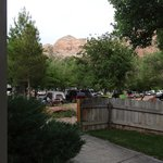 View of the campground from our porch