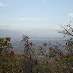 Vista para os Vales Centrais de Oaxaca