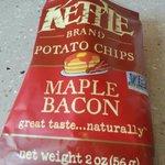 Maple Bacon Potato Chips were really good.