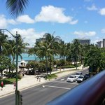 View from Tikis