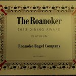 As voted by the readers of the Roanoker magazine.