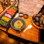 Our famous table-side guacamole