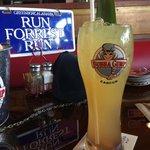 Bebida con vaso gratis incluido :)