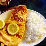 Merluza con arroz (valor: $3.800)