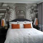 refurbished bedroom