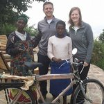 Donating the Bicycle to a Top Student from Local School