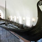One of the Viking ships