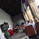 Área externa do Restaurante