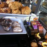 Gluten free goodies and bread available also