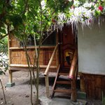4 bed cabin with private toilet