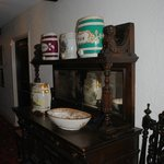 antiques in the hallway