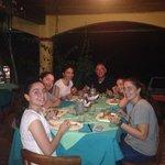 Ottima cena italiana in Costa Rica